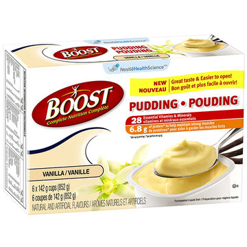 Boost Pudding - Vanilla - 6 x 142g