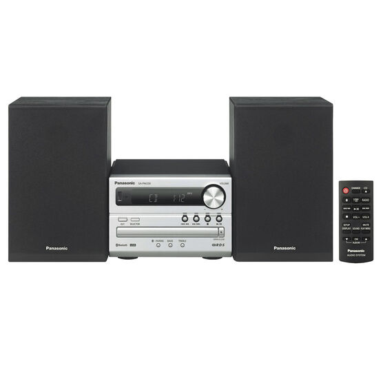Panasonic CD Mini System - Silver - SCPM250S
