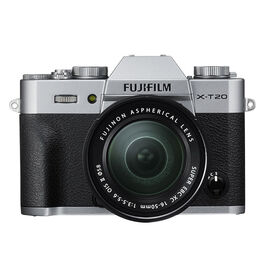 PRE-ORDER: Fujifilm X-T20 with 16-50mm XC Lens - Silver - 600018095