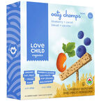 Love Child Oaty Chomps Bars- Blueberry Carrot - 6 x 23g
