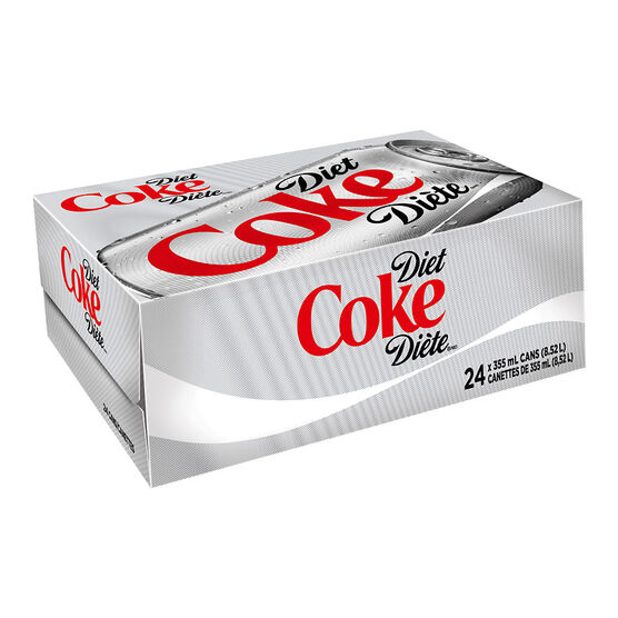 Coke - Diet - 24 x 355ml Cans