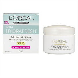 L'Oreal Dermo-Expertise Hydrafresh Moisturizer for Normal to Dry Skin SPF 15 - 70ml