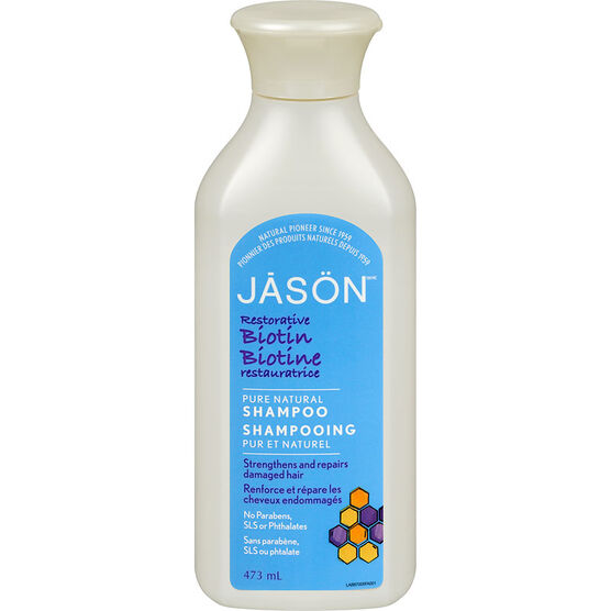 Jason Natural Biotin Shampoo - 473ml