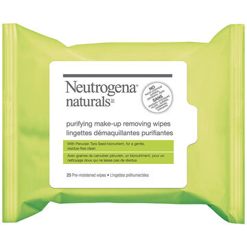 Neutrogena Natural Purifying Make-up Remover Wipes - 25's