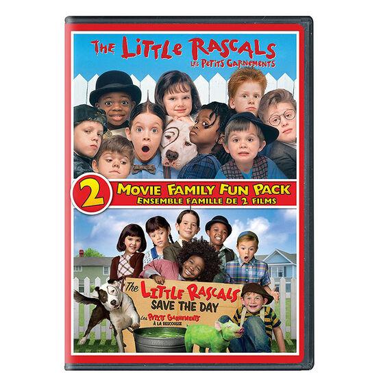 The Little Rascals 2 Movie Fun - DVD