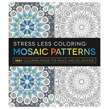 Stress Less Colouring: Mosaic Patterns