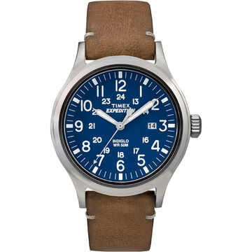 Timex Expedition Scout - Tan/Blue - TW4B01800AW