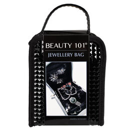 Beauty 101 Jewelry Travel Bag - Black
