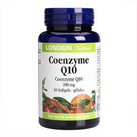 London Drugs Naturals Coenzyme Q10 - 200mg - 30's