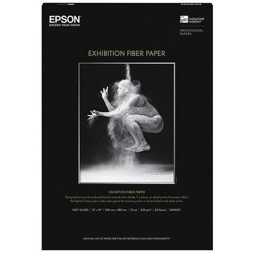 Epson Exhibition Fibre Paper - 13 x 19 inch - 25 sheets