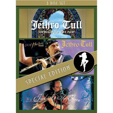 Jethro Tull - 3 Concert Set - Jack In Green / Montreux / Living Past - DVD