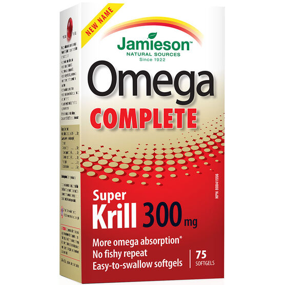 Jamieson Omega Complete Super Krill - 300mg - 75's