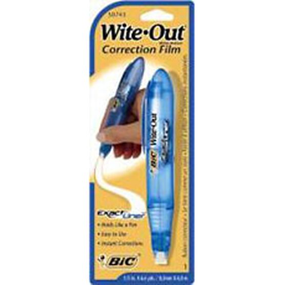 Bic White Out Exact Liner Correction Film