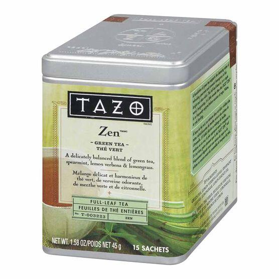 Tazo Zen Green Tea - 15's - 45g