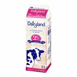 Dairyland 2% Milk - 1L