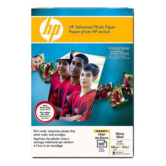 HP Advanced Glossy Photo Paper - 100 sheets