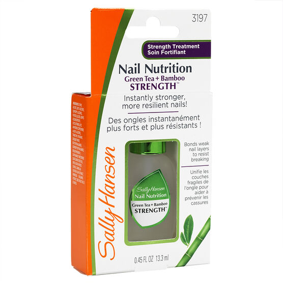 Sally Hansen Nail Nutrition Green Tea & Bamboo Nail Strengthener
