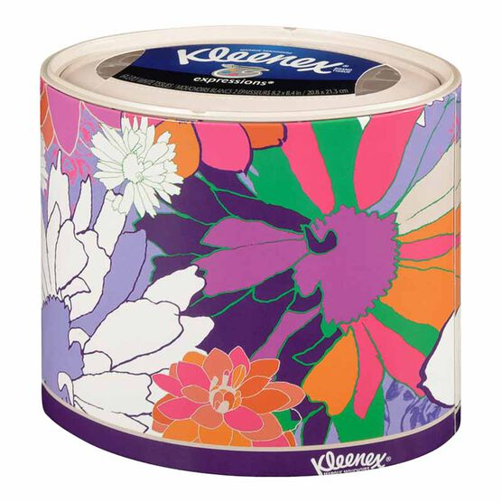 Kleenex Expressions Tissues - 64's