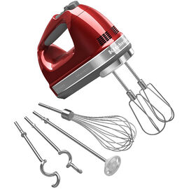 KitchenAid 9-Speed Architect Hand Mixer - Candy Apple Red - KHM926ACA