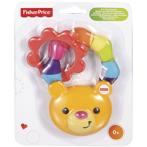 Fisher Price Soft Ring Bear Teether