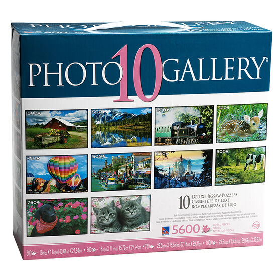 Sure-Lox Art Gallery Deluxe Jigsaw Puzzles - 10 pack