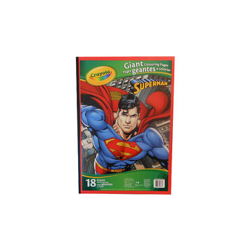 Crayola Giant Colouring Pages - Superman