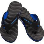 Perry Ellis Massaging Sole Men's Sandals - Black - Sizes 7-12
