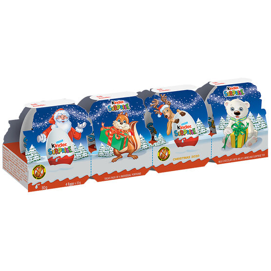 Kinder Express Christmas Train - 4piece/80g
