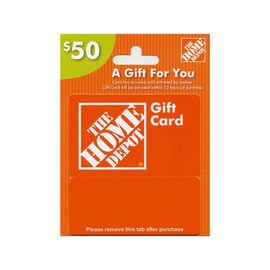 Home Depot Gift Card - $50