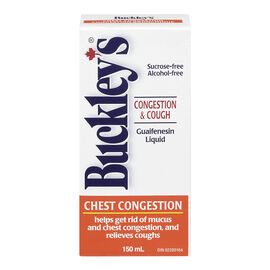 Buckley's Chest Congestion Guaifenesin Liquid - 150ml
