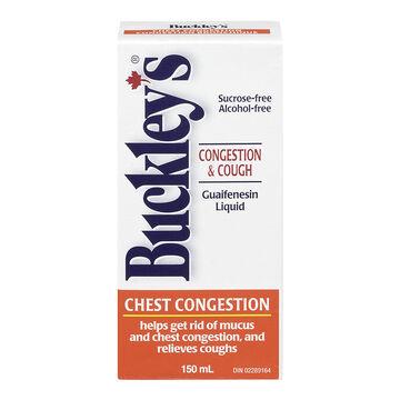 Buckley's Chest Congestion Guaifenesin Liquid - 150ml