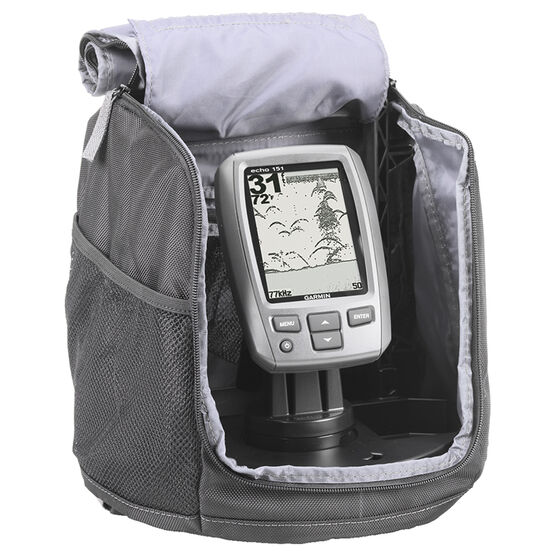 Garmin Echo 151 Portable Bundle Fish Finder - Black - 0100125810