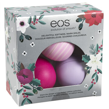eos Lip Balm Limited Edition - 3 x 7g