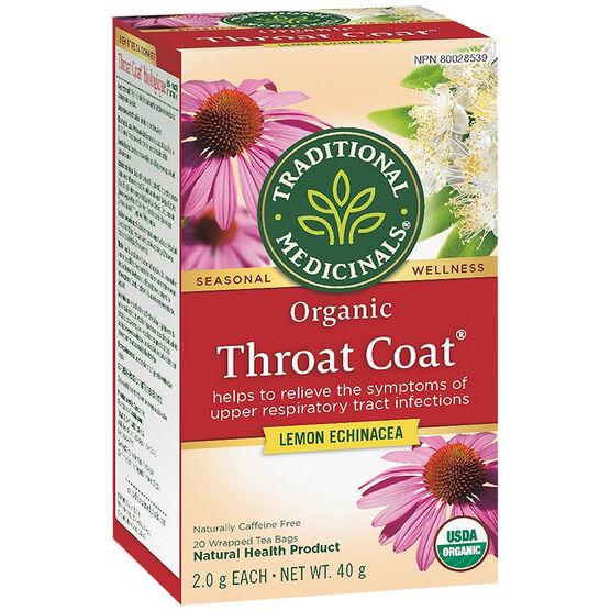 Traditional Medicinals Tea - Throat Coat - 20's