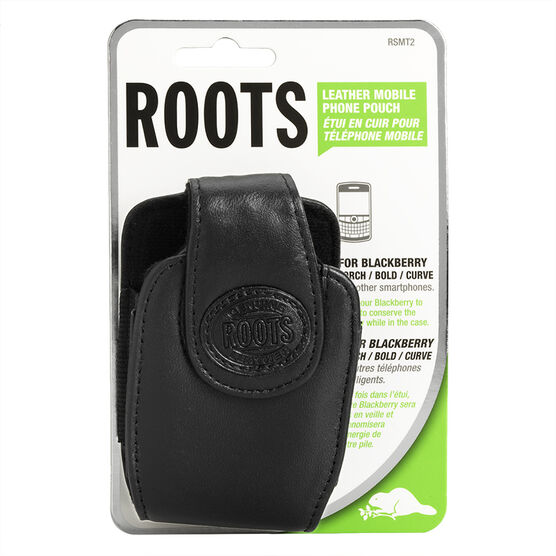 Roots Cell Case for BlackBerry Curve - Black - RSMT2BK