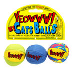 Ducky World Yeowww My Cat Balls - 2.44oz