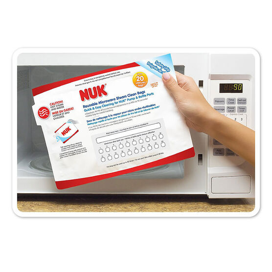 Nuk Steam Cleaning Bags