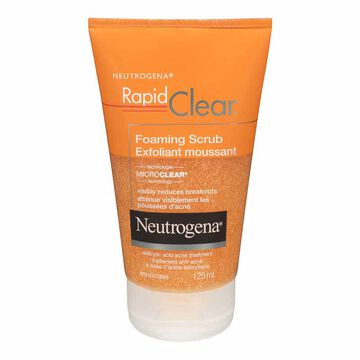 Neutrogena Rapid Clear Foaming Scrub - 125ml
