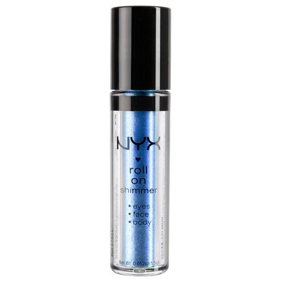 NYX Roll On Eye Shimmer - Blue