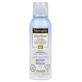 Neutrogena Ultra Sheer Spray - SPF 60 - 141g