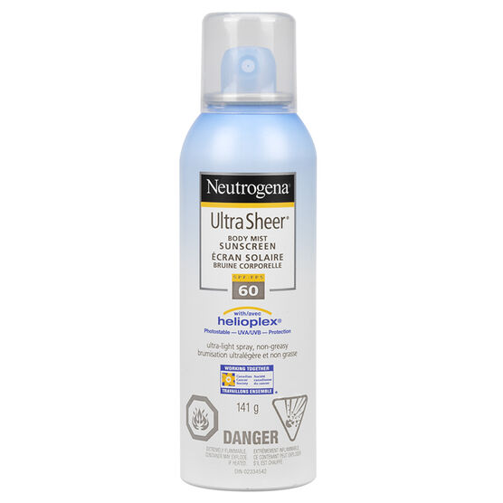 Neutrogena Ultra Sheer Spray - SPF 60 - 141g