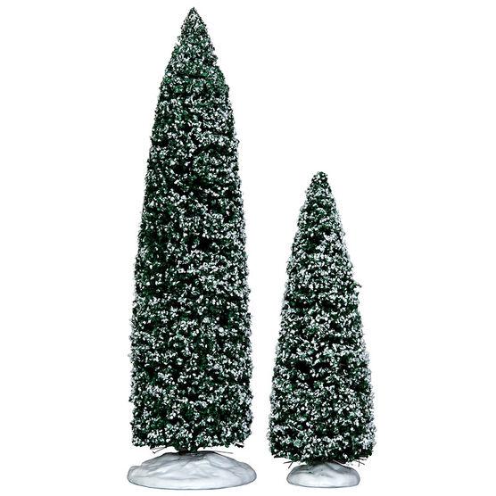 Lemax Snowy Juniper Tree - 2 set