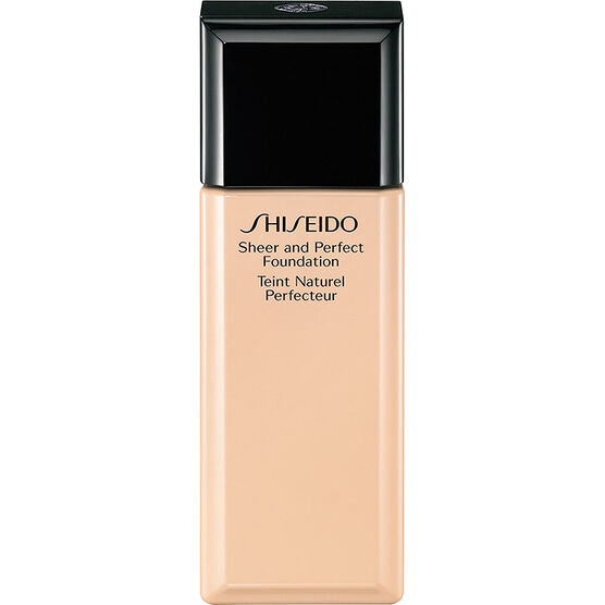 Shiseido Sheer and Perfect Foundation - B40 Natural Fair Beige