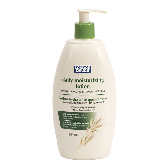 London Drugs Daily Moisturizing Lotion - Fragrance Free - 354ml