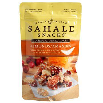 Sahale Snacks Glazed Nuts - Almonds with Cranberries, Honey and Sea Salt - 113g