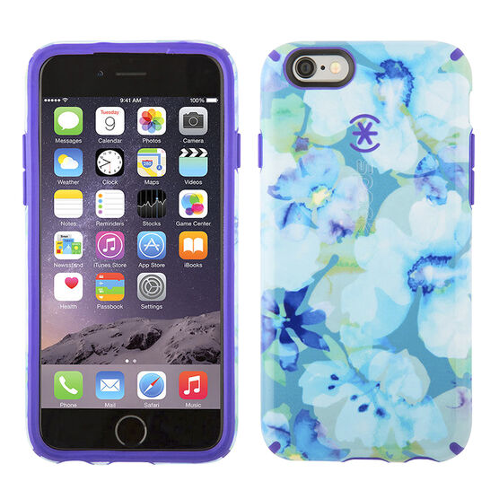 Speck CandyShell Inked Case for iPhone 6/6s - Floral Blue - SPK73774C140