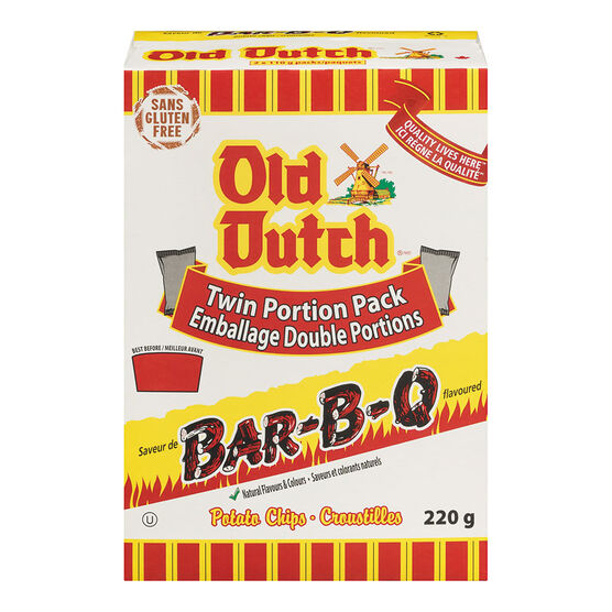 Old Dutch Barbeque Chips - 220g Box