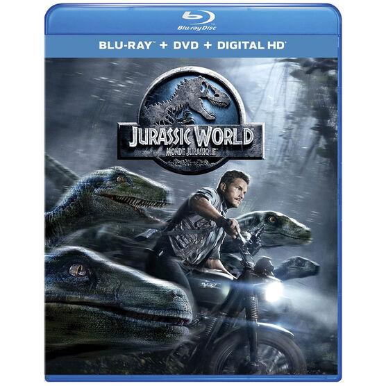 Jurassic World - Blu-ray + DVD + Digital