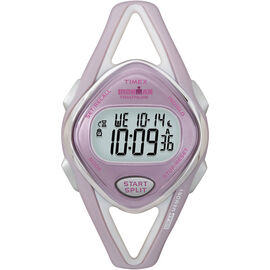 Timex Ironman Triathlon 50-Lap Sleek Watch -  Pink/Silver - 5K027
