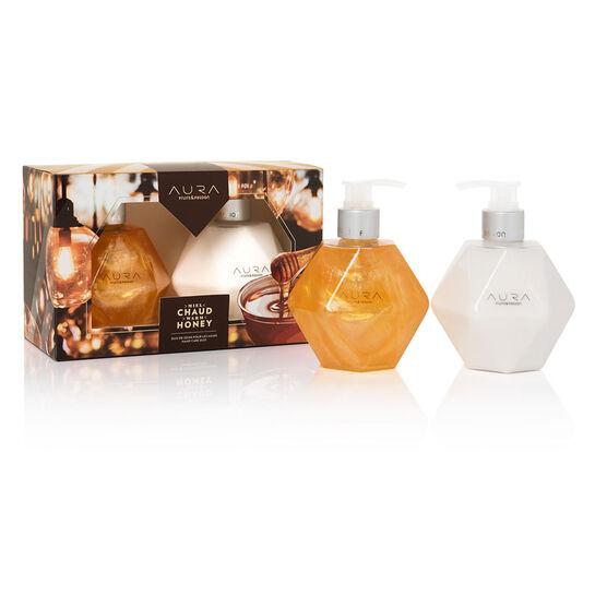 Fruit & Passion Aura Hand Care Duo - Warm Honey